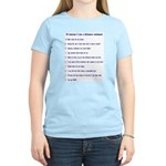 Top ten reasons distance swim Women's Pink T-Shirt