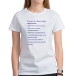 Top ten reasons distance swim Women's T-Shirt