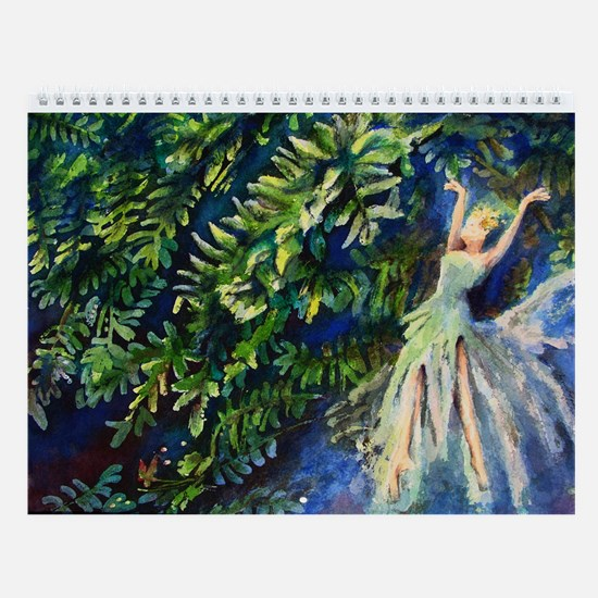Art Prints Wall Calendar