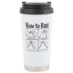 How to Knit Stainless Steel Travel Mug