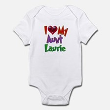 I LOVE MY AUNT LAURIE Onesie