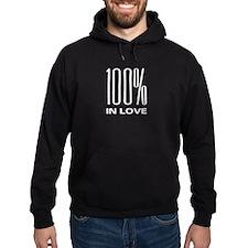 100% In Love Hoodie
