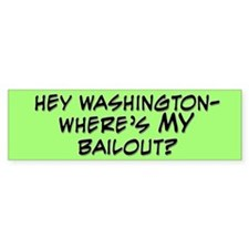 Hey Washington Bumper Bumper Bumper Sticker