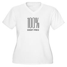100% Debt Free T-Shirt
