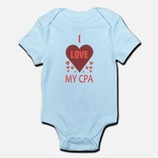 I Love My CPA Infant Bodysuit