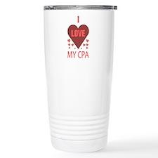 I Love My CPA Travel Mug