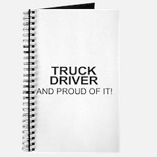 Proud Truck Driver Journal