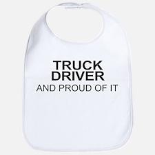 Proud Truck Driver Bib