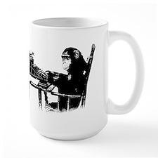 Typing chimpanze Mug