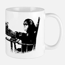 Typing chimpanze Mug