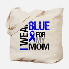 I Wear Blue Mom Tote Bag