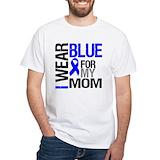 Colon cancer Mens White T-shirts