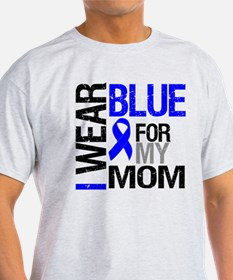 I Wear Blue Mom T-Shirt
