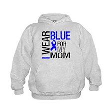 I Wear Blue Mom Hoodie