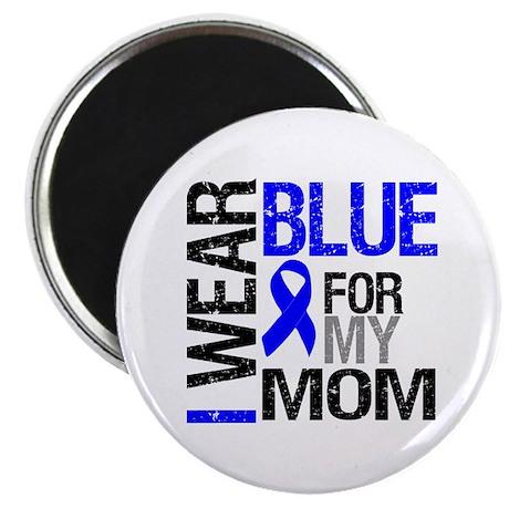I Wear Blue Mom Magnet