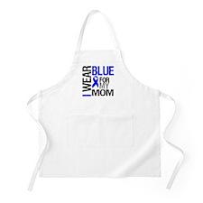 I Wear Blue Mom BBQ Apron