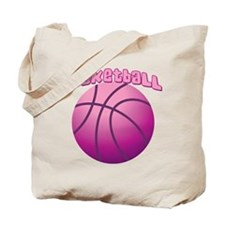 Pink BBall Tote Bag