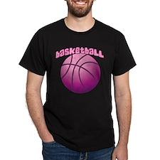 Pink BBall T-Shirt