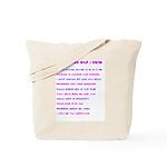 Ten reasons I swim - Female Tote Bag