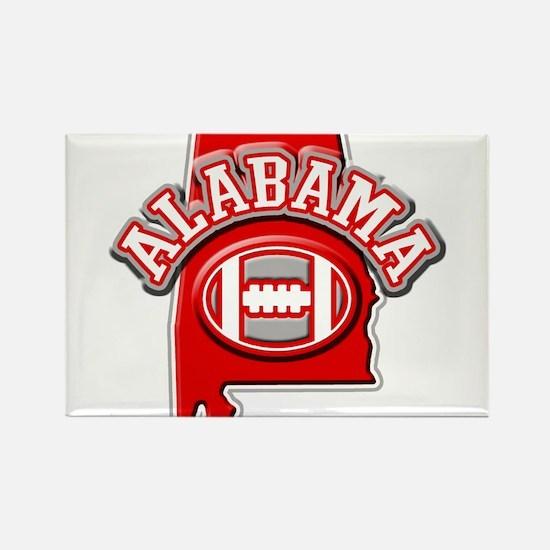 Alabama Football Rectangle Magnet