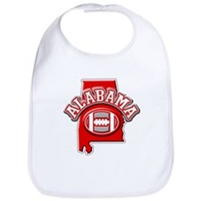 Alabama Football Bib