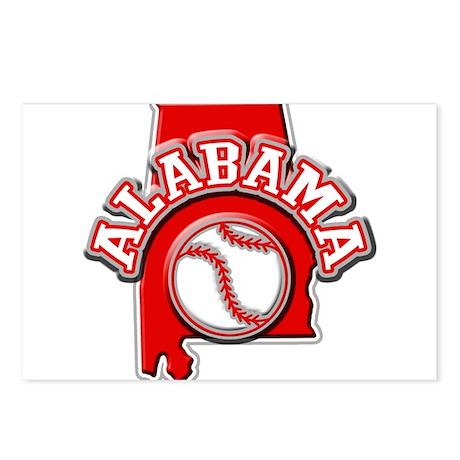 Alabama Baseball Postcards (Package of 8)