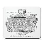 Slant-Six Club Mousepad