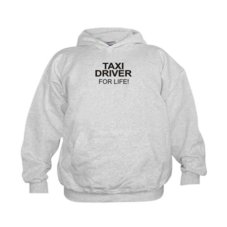 Taxi Driver For Life Kids Hoodie
