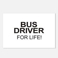Bus Driver For Life Postcards (Package of 8)