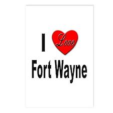 I Love Fort Wayne Postcards (Package of 8)