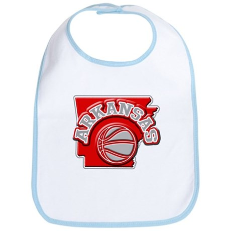 Arkansas Basketball Bib