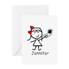 Mac - Jennifer Greeting Card