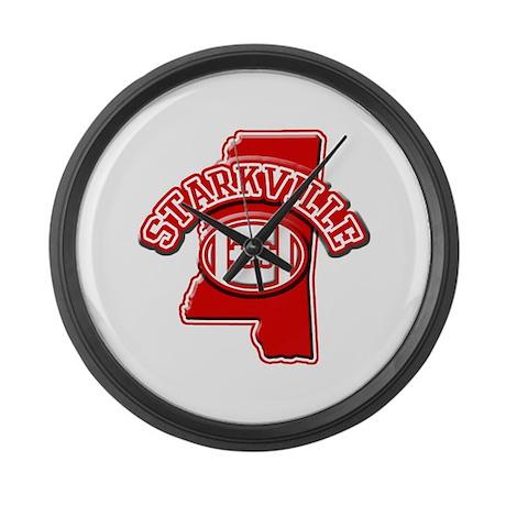 Starkville Football Large Wall Clock