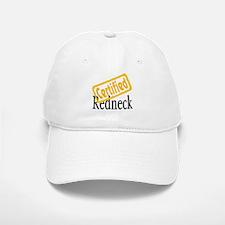 Certified RedNeck Baseball Baseball Cap