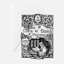 Odd Volume Greeting Cards (Pk of 20)