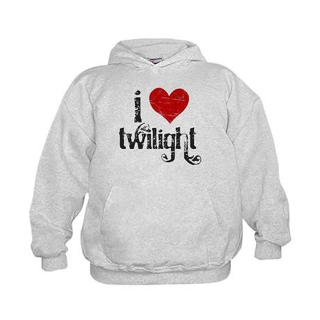 I Love Twilight Kids Hoodie
