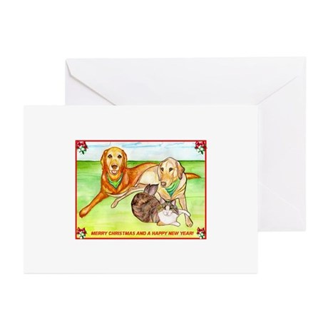 Animal Clan Greeting Cards (Pk of 10)