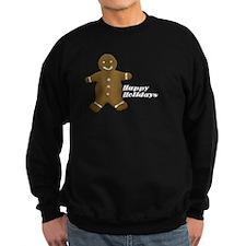 Happy Holidays Gingerbread Sweatshirt
