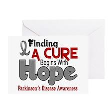 HOPE Parkinson's Disease 5 Greeting Card