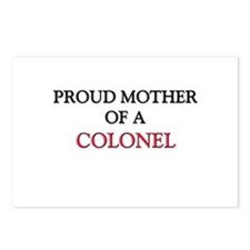 Proud Mother Of A COLONEL Postcards (Package of 8)