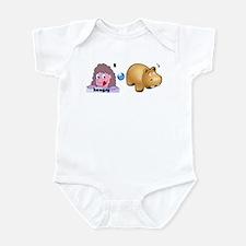 Hippos Infant Bodysuit