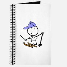 Boy & Skiing Journal