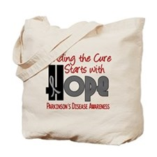 HOPE Parkinson's Disease 4 Tote Bag