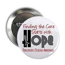 """HOPE Parkinson's Disease 4 2.25"""" Button (10 pack)"""