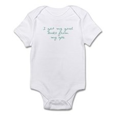 Get My looks from Opa Infant Bodysuit