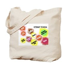 Veterinary Technician Splat Tote Bag