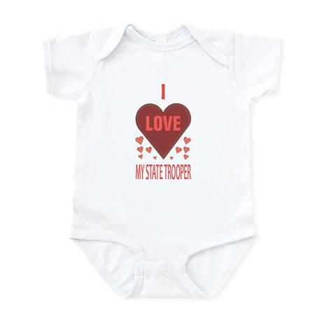 My State Trooper Infant Bodysuit