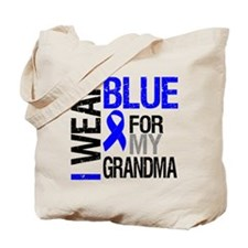 I Wear Blue Grandma Tote Bag