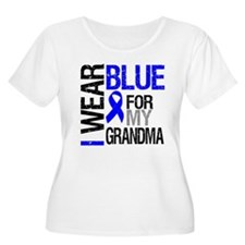 I Wear Blue Grandma T-Shirt