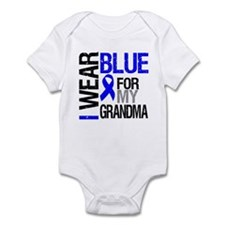 I Wear Blue Grandma Onesie